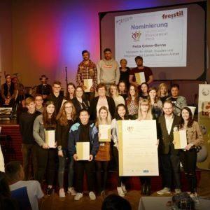 Verleihung des freistil JugendEngagementPreis